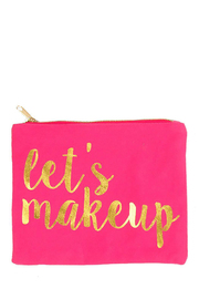8 Oak Lane Let's Makeup Pouch - Product Mini Image