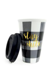 8 Oak Lane Stay Awhile Thermos - Front full body