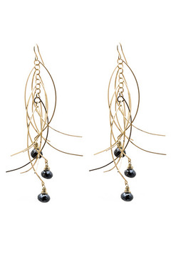 Shoptiques Product: Sticks Stones Earrings Medium