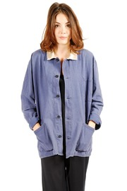 Shoptiques Product: V-Neck Button Down Shirt