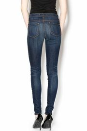 Flying Monkey High-Waisted Ripped Jeans - Back cropped