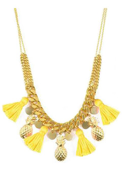 Shoptiques Product: Pineapple Necklace