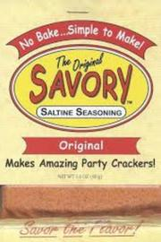 Original Savory Savory Cracker Seasoning - Product Mini Image