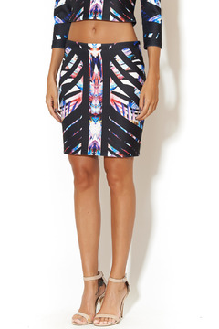 johanne Beck Geo Graphic Skirt - Product List Image