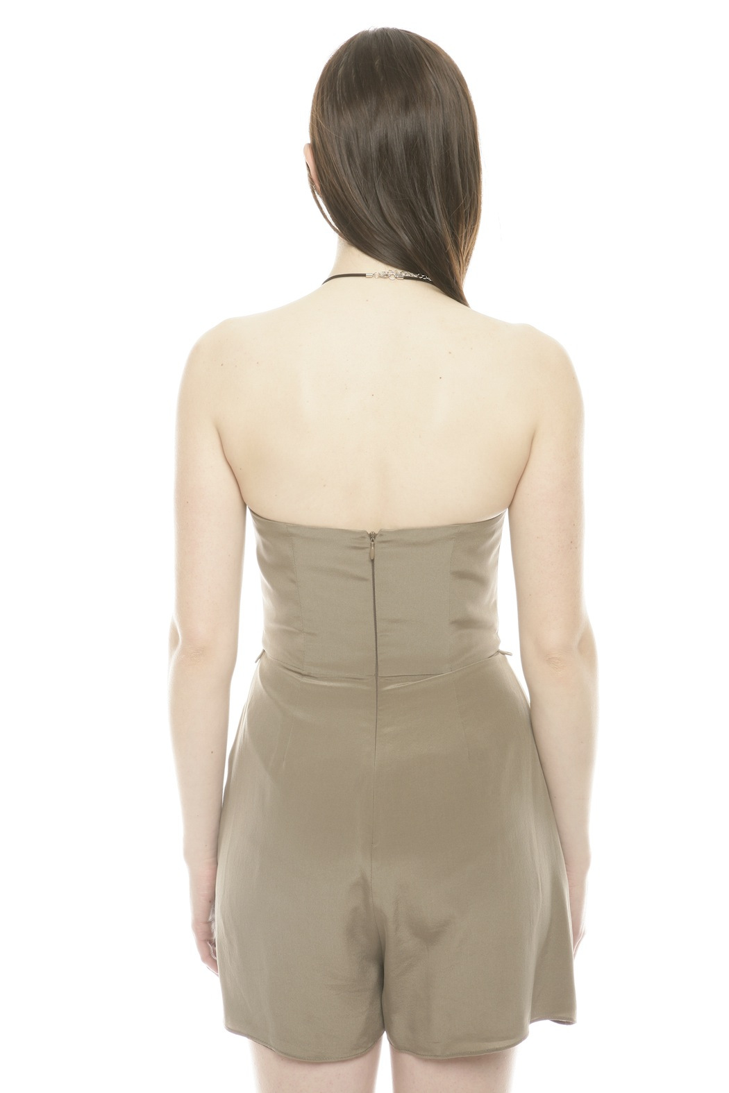Zimmerman Silk Underwire Playsuit - Back Cropped Image