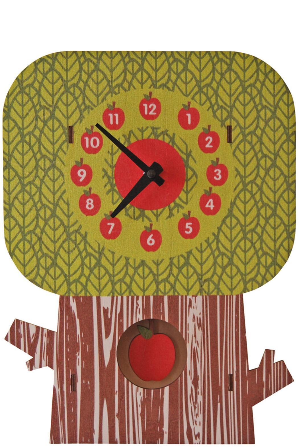 Modern Moose Apple-Tree Pendulum Clock from California by angelo ...
