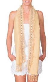 CLAIRE FLORENCE Fur Travel Scarf - Product Mini Image