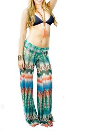 Letarte Printed Mesh Pants - Product Mini Image