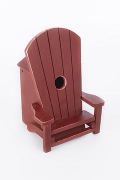 Shoptiques Product: Adirondach Chair Birdhouse
