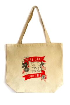 Emily McDowell Cat Lady Tote - Alternate List Image