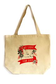 Emily McDowell Cat Lady Tote - Product Mini Image