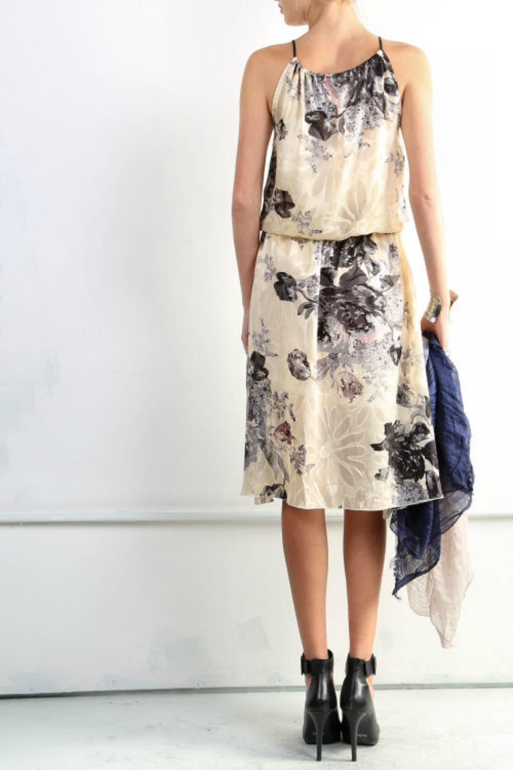 BEULAH STYLE Floral Mock Dress - Side Cropped Image