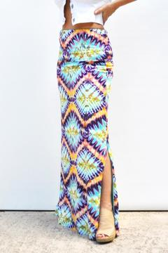 Love The Journey Tie-Dye Maxi Skirt - Product List Image