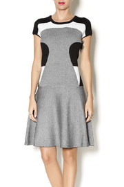 Katherine Barclay Sweater Colorblock Dress - Product Mini Image