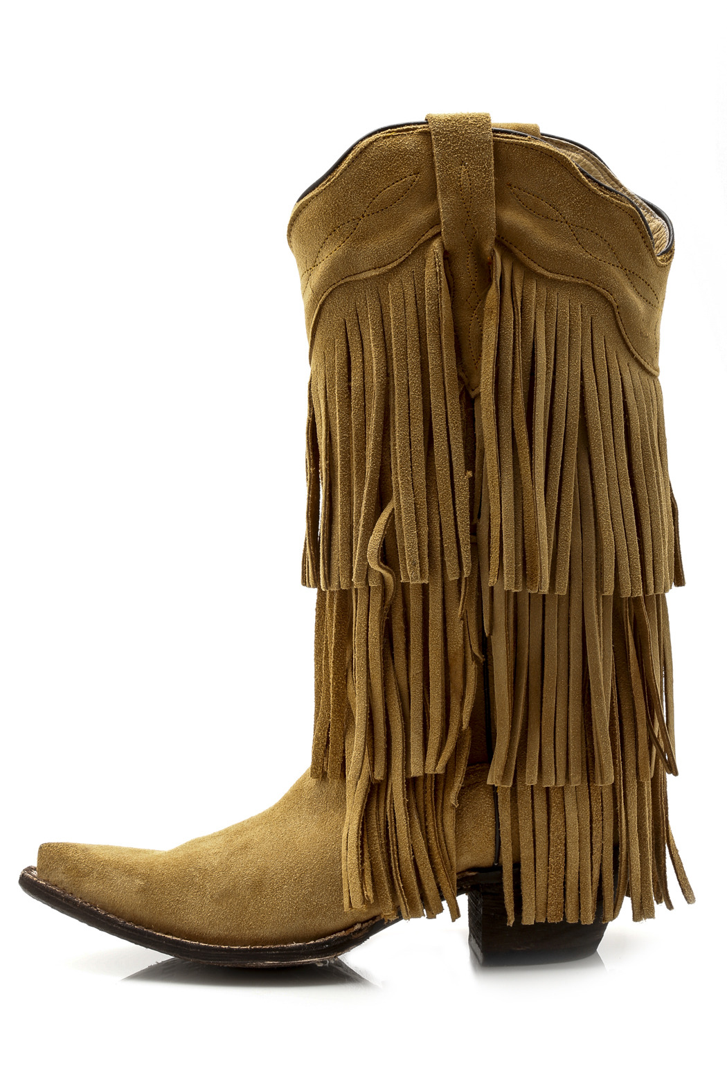 Tanner Mark Fringe Boot from Minnesota by crystal house boutique ...