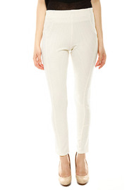 Gracia Ribbed Riding Pant - Front cropped