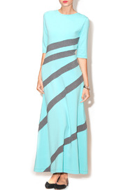B & P Mariah Striped Dress - Product Mini Image