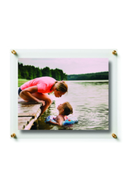 The Birds Nest 8X10/9X12-DOUBLE PANEL FLOATING FRAME(GLASS MEASURES 12X15) - Product Mini Image