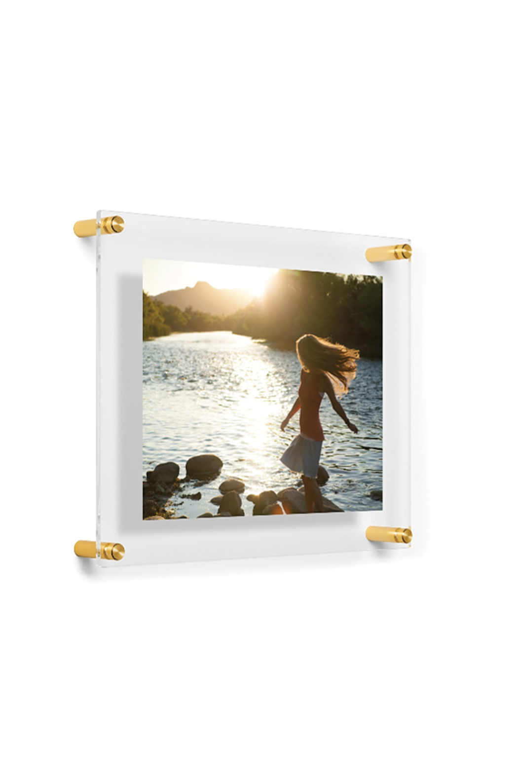 The Birds Nest 8X10/9X12-DOUBLE PANEL FLOATING FRAME(GLASS MEASURES 12X15) - Front Full Image