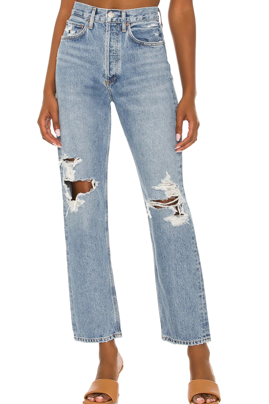 AGOLDE 90's Jean Wander - Front Full Image