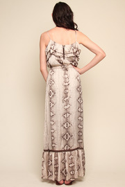 Shoptiques Product: Python Maxi Dress - Side cropped
