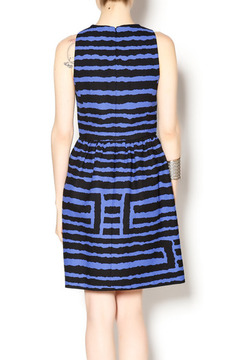 4.Collective Black and Blue Pleated Dress - Alternate List Image