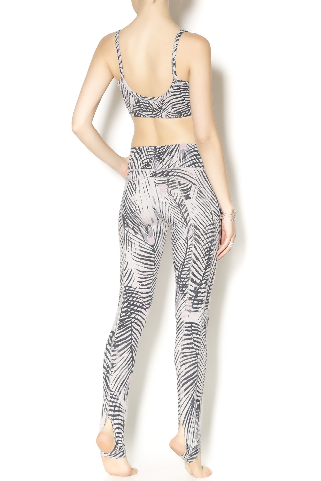 Alternative Apparel Lean Into It Legging - Side Cropped Image
