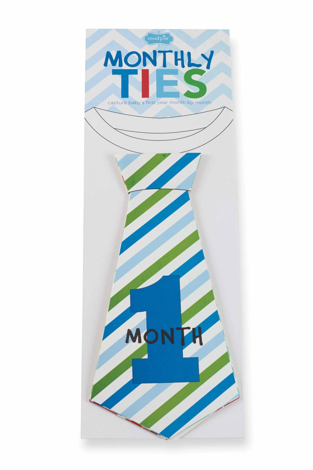 Mud Pie Boy Monthly Ties - Front Full Image