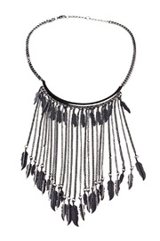 Shoptiques Product: Dangling Feather Necklace