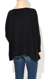 InStyle Black Dolman Sweater - Back cropped