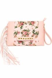 NONE Floral Handheld-Floral Clutch - Product Mini Image