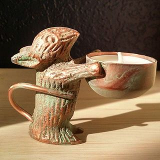 Shoptiques Tea Light Mouse Holder