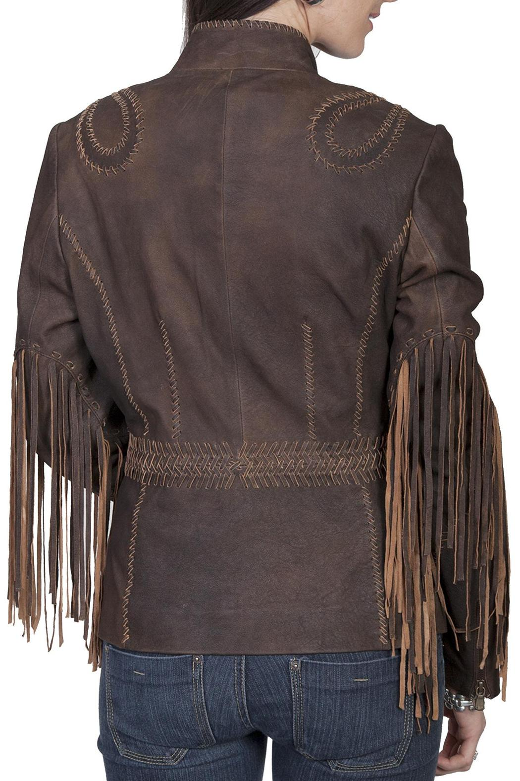 Scully Leather Fringe Leather Jacket - Front Full Image