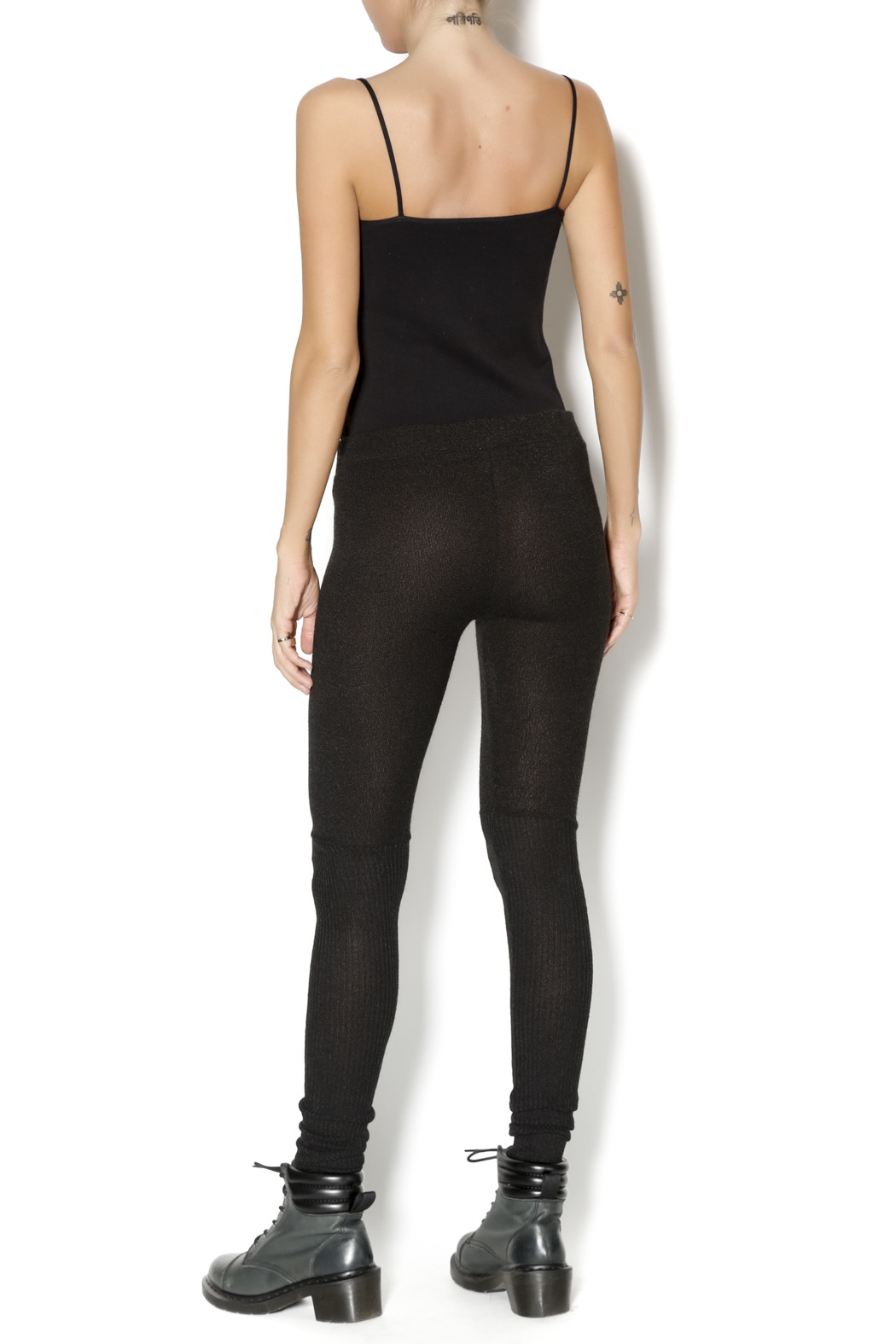 M. Rena Tummy Tuck Leggings - Side Cropped Image