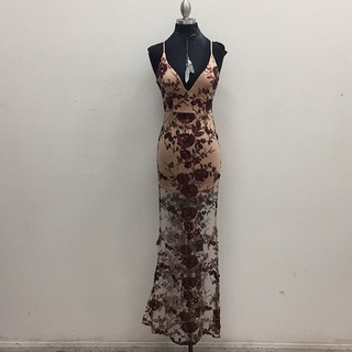 Unknown Factory Floral Maxi Dress - Instagram Image