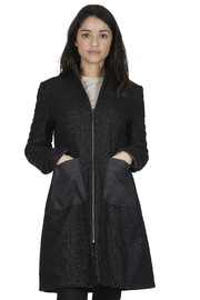 Shoptiques Product: Reversible Wool and Leather Coat