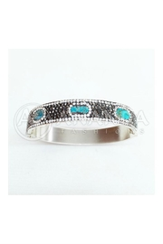 Ananda 925 Silver Bracelet - Front cropped