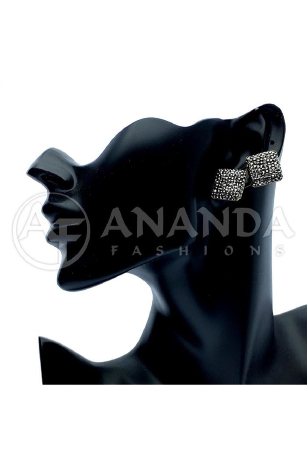 Ananda 925 Silver Earrings - Front Cropped Image