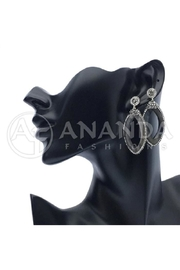 Ananda 925 Silver Earrings - Product Mini Image