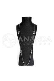 Ananda 925 Silver Necklace - Product Mini Image