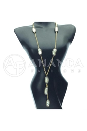 Ananda 925 Silver Necklace - Front cropped