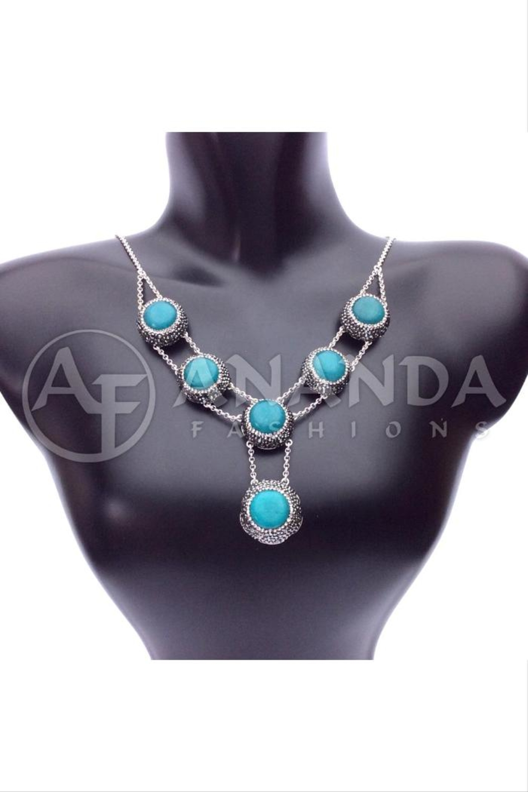 Ananda 925 Silver Necklace - Main Image