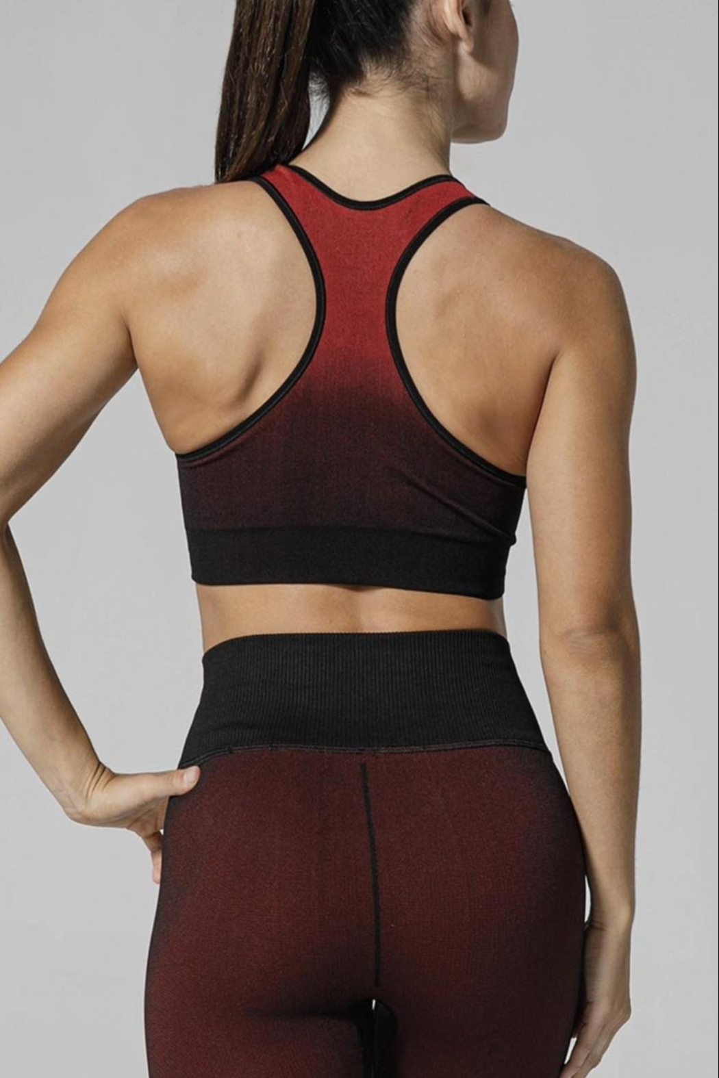 925 FIT Shade Sports Bra - Front Full Image