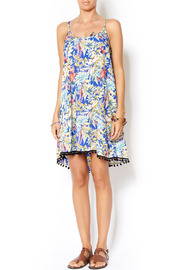 Pure Hype Tropical Pom Dress - Front full body