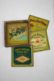 Floating Circus Vintage-Inpired Coasters - Front cropped