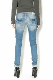Sublevel Skinny Stretchy Jeans - Back cropped