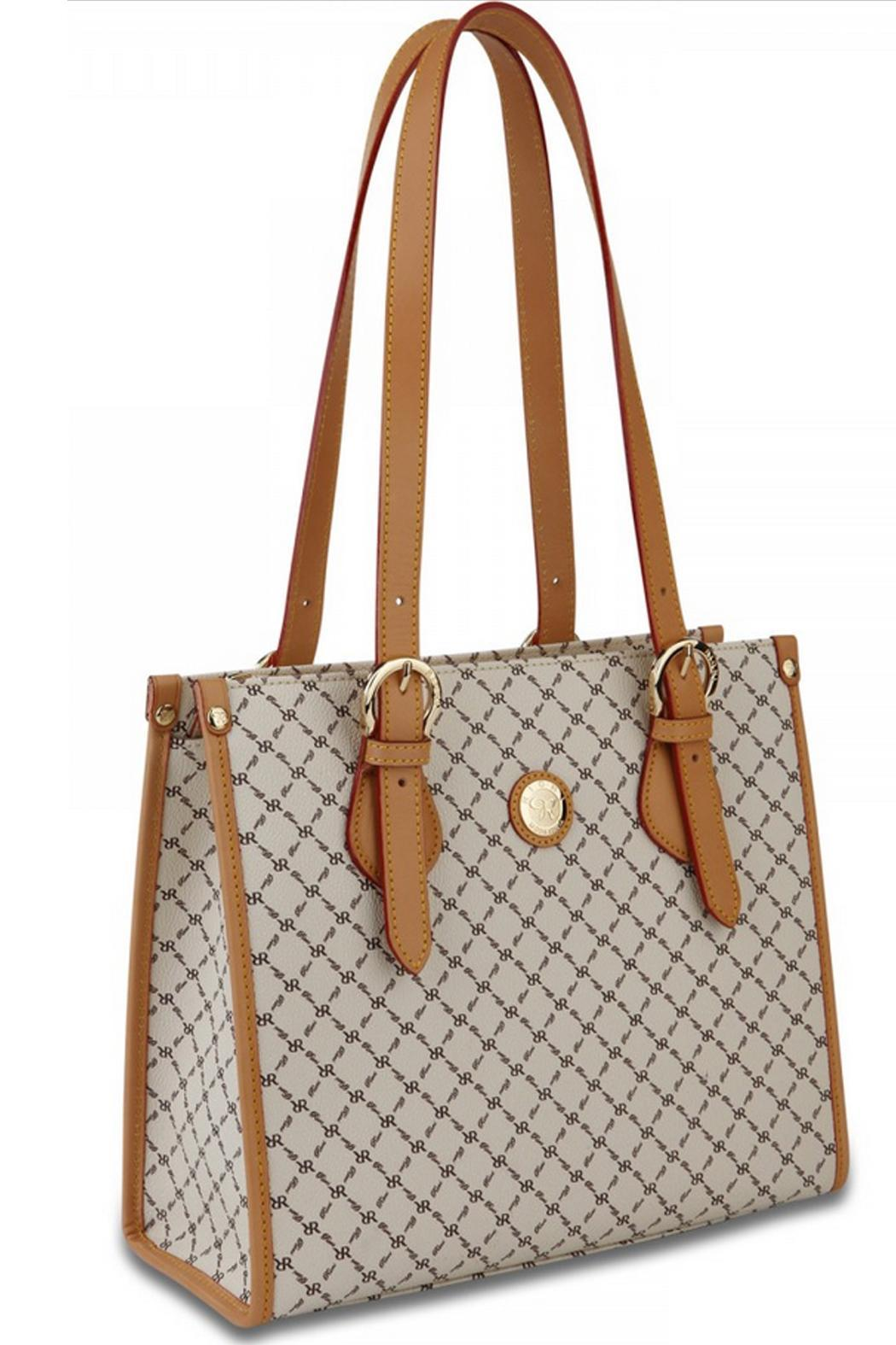 Rioni Signature Shoulder Tote - Front Full Image