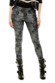 Shoptiques Product: Silver Denim Leggings