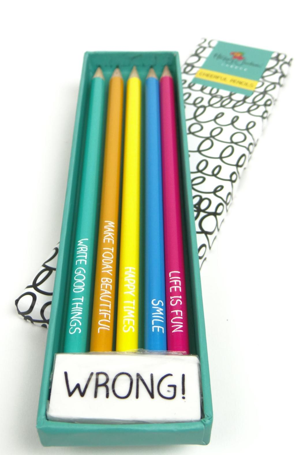 Happy Jackson  Cheerful Pencils - Front Full Image