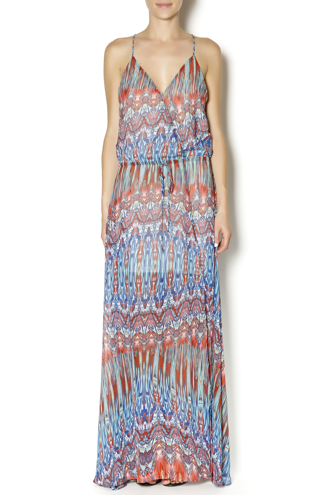 f86112b4bca AAKAA Side Slit Maxi Dress from New York by Dor L Dor — Shoptiques